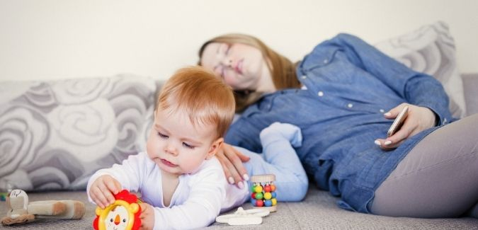 What signals does your body give when it is exhausted due to extra hours you spend in taking care of your children_